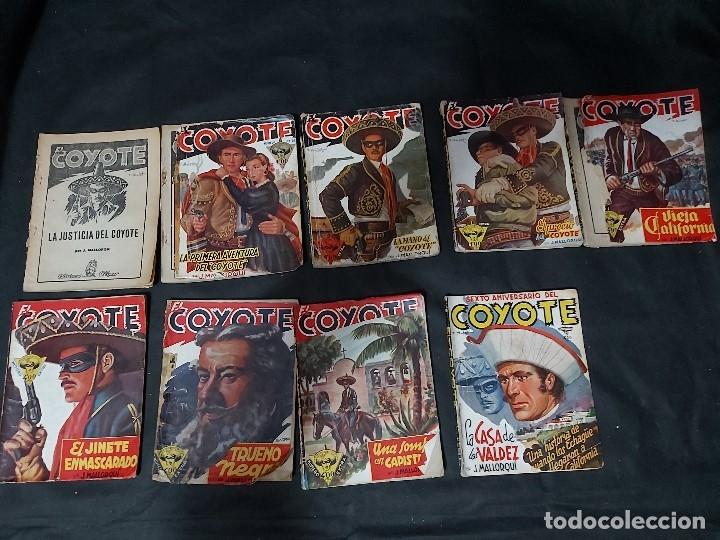 Tebeos: Lote de 127 número de El Coyote, Editorial Clipper, Años 40 y 50 - Foto 31 - 178119924