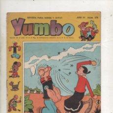 Tebeos: YUMBO AÑO VI Nº278.CLIPER 1958.DA. Lote 178571408