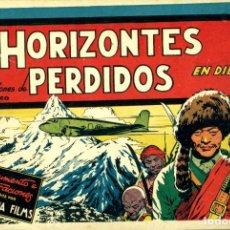 Tebeos: HORIZONTES PERDIDOS (CISNE, 1942) PELÍCULAS FAMOSAS-2. DE JESÚS BLASCO. Lote 179232458
