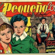 Tebeos: EL PEQUEÑO LORD (CISNE, 1942) PELÍCULAS FAMOSAS-5. CON CROMOS. DE TOMÁS PORTO.. Lote 179233638
