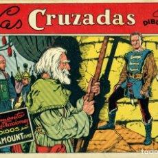 Tebeos: LAS CRUZADAS (CISNE, 1942) PELÍCULAS FAMOSAS-3. PORTADA DE BLASCO. SIN LA CONTRAPORTADA. Lote 179235372