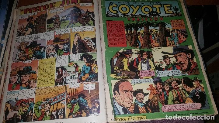 Tebeos: Relatos coyote, tomo con los numeros del n° 66 al n° 99 + almanaque 1951 - Foto 4 - 181134350