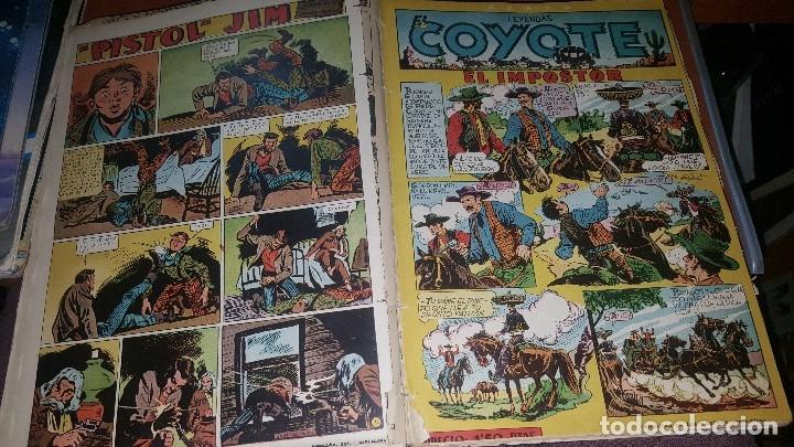Tebeos: Relatos coyote, tomo con los numeros del n° 66 al n° 99 + almanaque 1951 - Foto 6 - 181134350