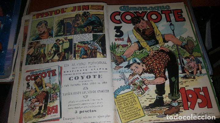 Tebeos: Relatos coyote, tomo con los numeros del n° 66 al n° 99 + almanaque 1951 - Foto 7 - 181134350