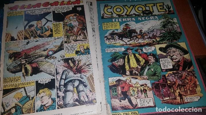 Tebeos: Relatos coyote, tomo con los numeros del n° 66 al n° 99 + almanaque 1951 - Foto 8 - 181134350