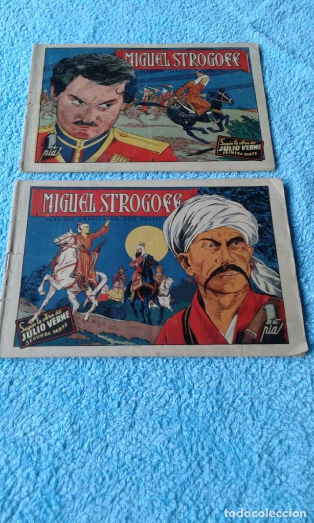 MIGUEL STROGOFF COMPLETA PRIMERA Y SEGUNDA PARTE -AVENTURAS CELEBRES- EDICIONES CLIPER 1942 (Tebeos y Comics - Cliper - Otros)