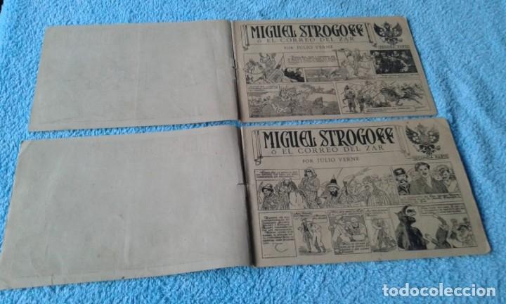 Tebeos: MIGUEL STROGOFF COMPLETA PRIMERA Y SEGUNDA PARTE -AVENTURAS CELEBRES- EDICIONES CLIPER 1942 - Foto 2 - 181436201