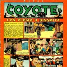 Tebeos: EL COYOTE-50 (CLIPER, 1947) . Lote 181437290