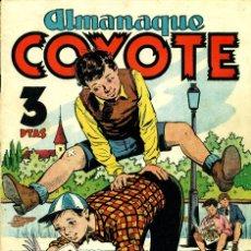 Tebeos: EL COYOTE ALMANAQUE 1951 (CLIPER). Lote 181438116