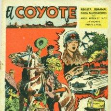 Tebeos: EL COYOTE, SEGUNDA SERIE COMPLETA: 14 NÚMEROS (CLIPER, 1953). Lote 181438227