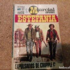 Tebeos: NOVELA DEL OESTE EXPULSADOS DE CRIPPLE CREEK. Lote 181599711