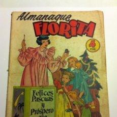 Tebeos: FLORITA -ALMANAQUE 1955. Lote 181988487