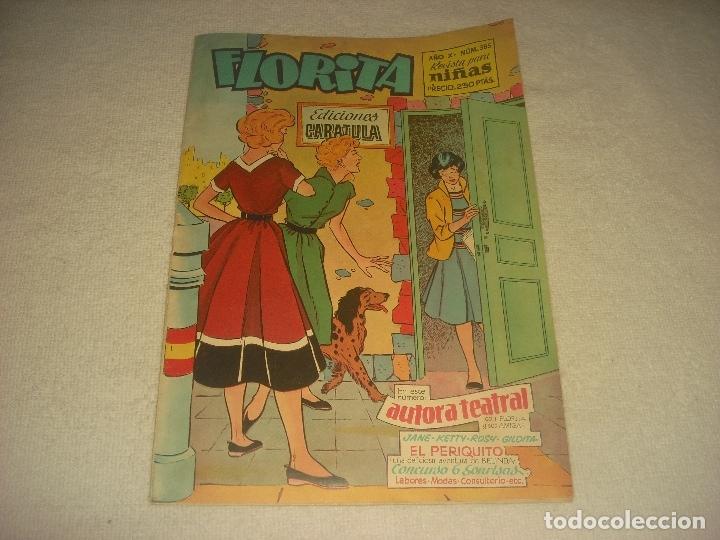 FLORITA, REVISTA PARA NIÑAS. N. 385 (Tebeos y Comics - Cliper - Florita)