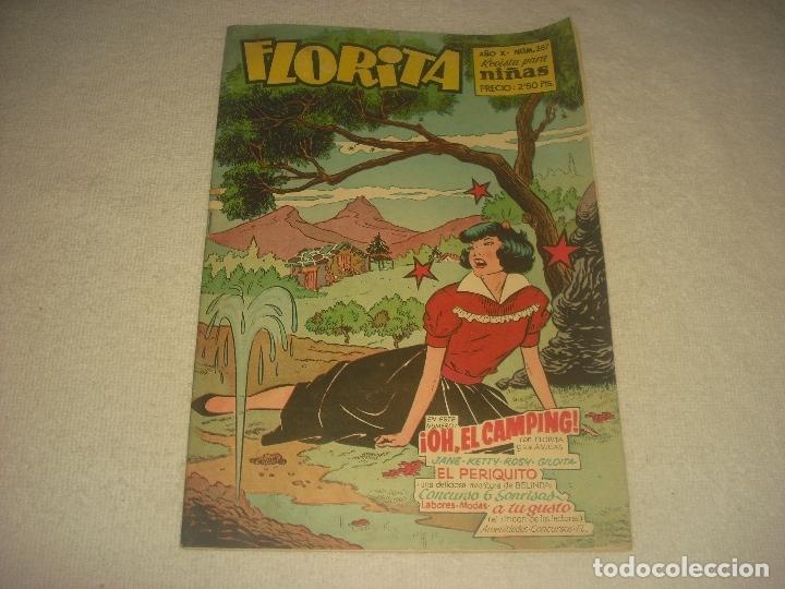 FLORITA, REVISTA PARA NIÑAS. N. 387 (Tebeos y Comics - Cliper - Florita)