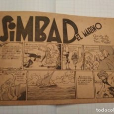 Tebeos: SIMBAD EL MARINO - EDITORIAL CLIPER, 1942. Lote 182781980