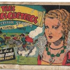 Tebeos: LOS TRES MOSQUETEROS - ORIGINAL - COMPLETA. Lote 182888500