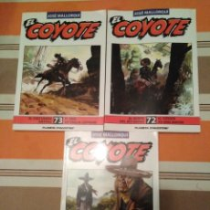 Tebeos: EL COYOTE 71, 72 Y 73. Lote 182913626