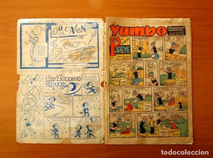 Tebeos: Yumbo nº 210, Popeye, el conejito Atómico, Billy y Bumble - Ediciones Cliper 1953 - Foto 2 - 183007845
