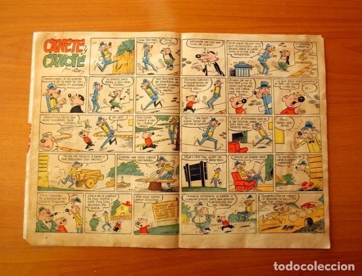 Tebeos: Yumbo nº 210, Popeye, el conejito Atómico, Billy y Bumble - Ediciones Cliper 1953 - Foto 4 - 183007845