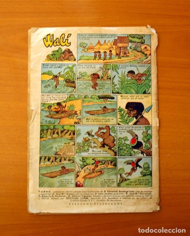 Tebeos: Yumbo nº 210, Popeye, el conejito Atómico, Billy y Bumble - Ediciones Cliper 1953 - Foto 6 - 183007845