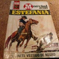 Tebeos: NOVELA DEL OESTE EL JINETE VESTIDO DE NEGRO. Lote 183200482