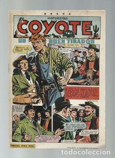 EL COYOTE 98, 1951, CLIPER, BUEN ESTADO (Tebeos y Comics - Cliper - El Coyote)