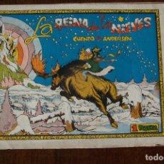 Tebeos: CLIPER-CISNE,- LA REINA DE LAS NIEVES , CUADERNOS SELECTOS CISNE DE 1ª ED. . Lote 183656591