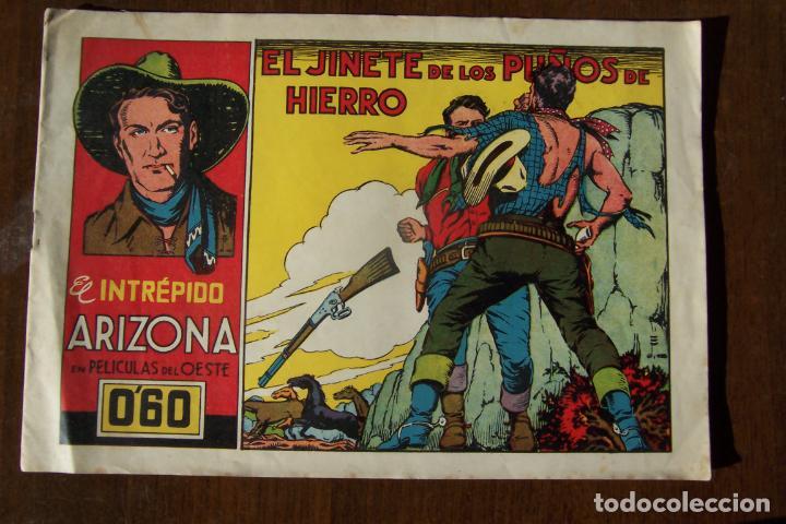 CLIPER-CISNE,- INTRÉPIDO ARIZONA Nº 11 EL JINETE DE LOS PUÑOS DE HIERRO. (Tebeos y Comics - Cliper - Otros)
