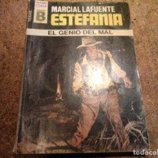 Tebeos: NOVELA DEL OESTE EL GENIO DEL MAL. Lote 183968141