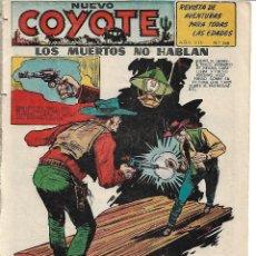 Tebeos: EL COYOTE NUM 168 - ORIGINAL. Lote 184361608