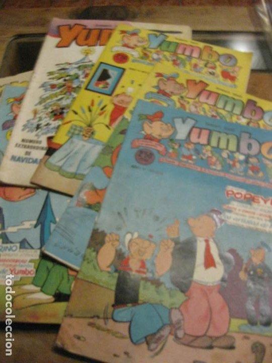 8 COMIC TBO YUMBO 1 EXTRA NAVIDAD ED CLIPER . GERPLA POPEYE ELMER AÑOS 50 SEMANARIO INFANTIL (Tebeos y Comics - Cliper - Yumbo)
