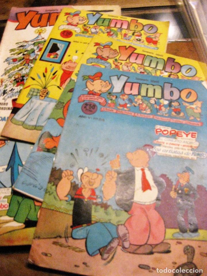 Tebeos: 8 comic tbo yumbo 1 extra navidad ed cliper . gerpla popeye elmer años 50 semanario infantil - Foto 2 - 184398125