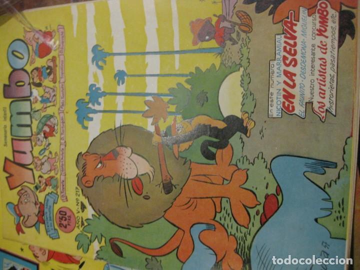 Tebeos: 8 comic tbo yumbo 1 extra navidad ed cliper . gerpla popeye elmer años 50 semanario infantil - Foto 5 - 184398125