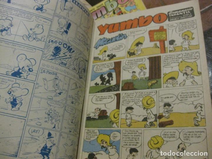Tebeos: 8 comic tbo yumbo 1 extra navidad ed cliper . gerpla popeye elmer años 50 semanario infantil - Foto 10 - 184398125