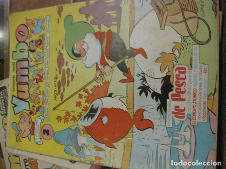 Tebeos: 8 comic tbo yumbo 1 extra navidad ed cliper . gerpla popeye elmer años 50 semanario infantil - Foto 12 - 184398125