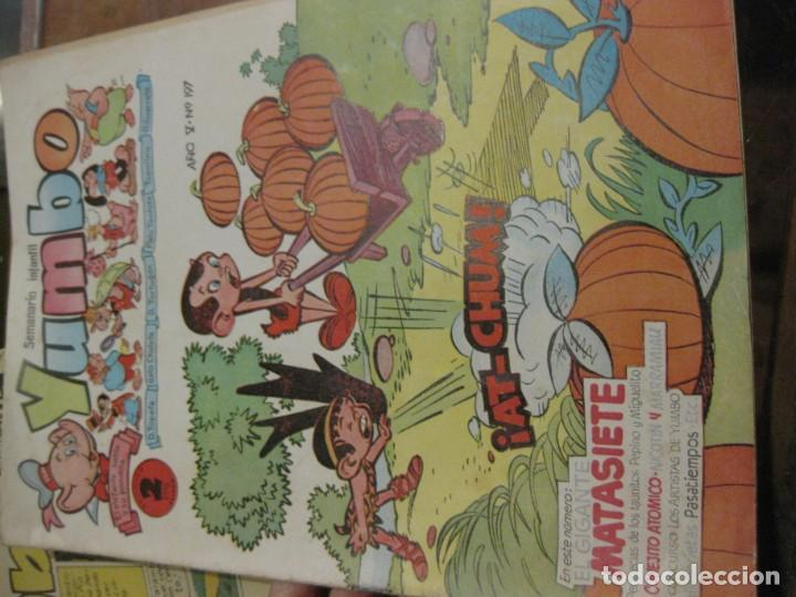 Tebeos: 8 comic tbo yumbo 1 extra navidad ed cliper . gerpla popeye elmer años 50 semanario infantil - Foto 13 - 184398125