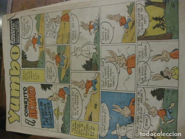 Tebeos: 8 comic tbo yumbo 1 extra navidad ed cliper . gerpla popeye elmer años 50 semanario infantil - Foto 14 - 184398125