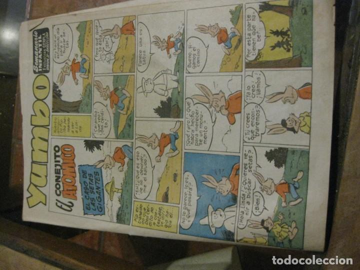 Tebeos: 8 comic tbo yumbo 1 extra navidad ed cliper . gerpla popeye elmer años 50 semanario infantil - Foto 15 - 184398125
