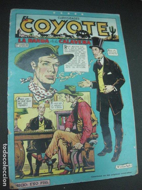 EL COYOTE Nº 91. LA BANDA DE LA CALAVERA. EDICIONES CLIPER (Tebeos y Comics - Cliper - El Coyote)