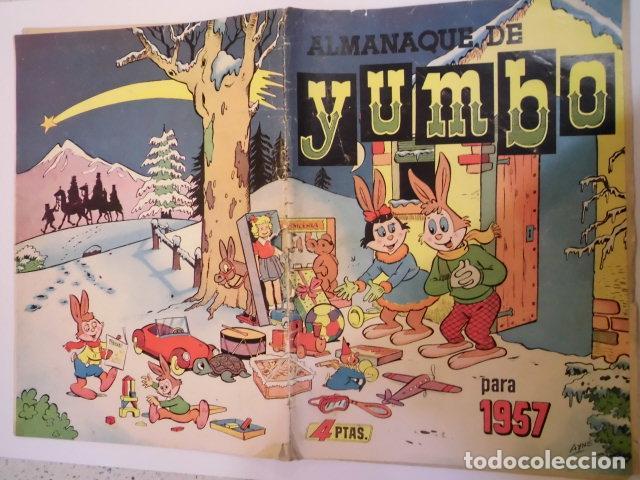 Tebeos: YUMBO - ALMANAQUE 1957 - ED. CLIPER - Foto 2 - 184879247