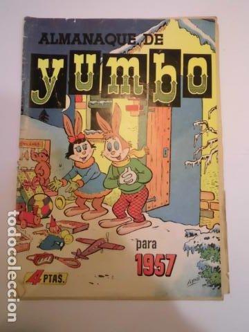 YUMBO - ALMANAQUE 1957 - ED. CLIPER (Tebeos y Comics - Cliper - Yumbo)