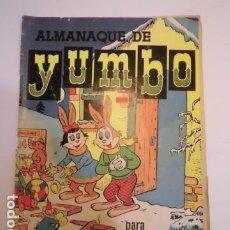 Tebeos: YUMBO - ALMANAQUE 1957 - ED. CLIPER. Lote 184879247