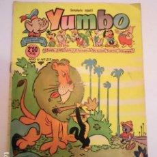 Tebeos: YUMBO - NUM 217 - ED. CLIPER. Lote 184879441