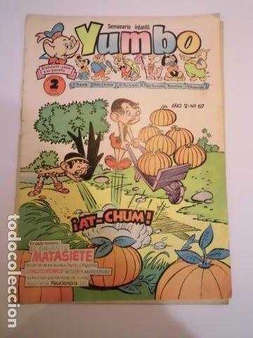 YUMBO - NUM 197 - ED. CLIPER (Tebeos y Comics - Cliper - Yumbo)