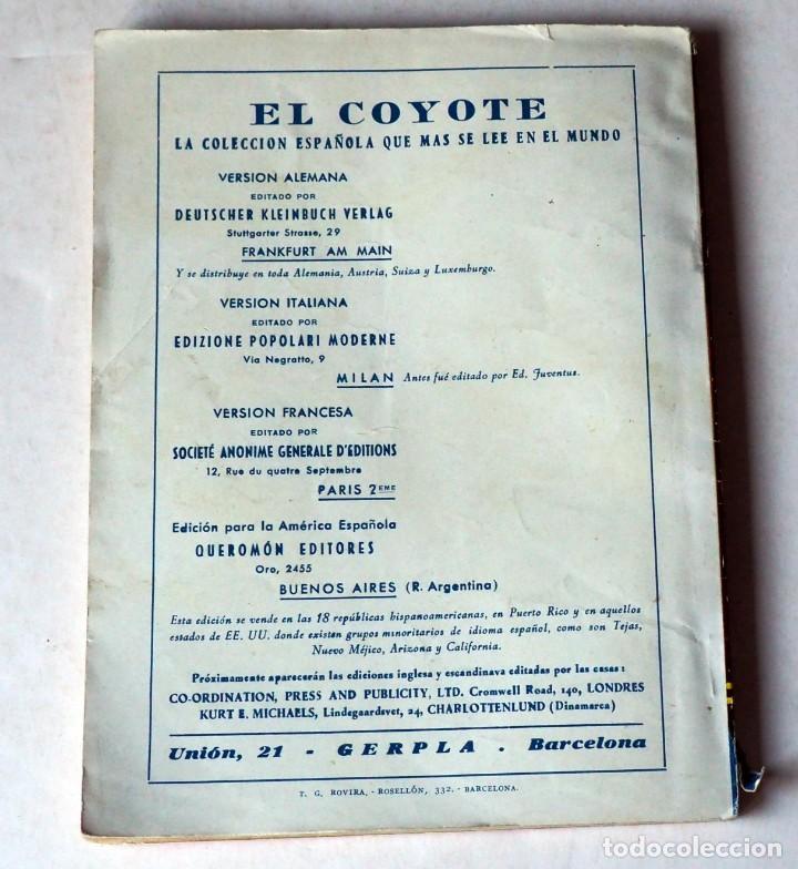 Tebeos: EL CENTENARIO DEL COYOTE: EL DIABLO, MURRIETA Y EL COYOTE POR J. MALLORQUI. AÑO 1950 Nº 100 - Foto 2 - 185390138