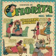 Tebeos: LIQUIDACION LOTE 15 EJEMPLARES DE FLORITA DE CLIPER.SON DE LOS PRIMEROS.. Lote 186212327
