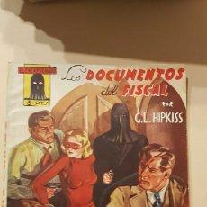 Tebeos: G.L.HIPKISS-LOS DOCUMENTOS DEL FISCAL. Lote 186247466