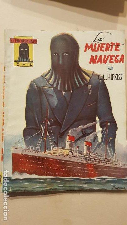 G.L.HIPKISS-LA MUERTE NAVEGA (Tebeos y Comics - Cliper - Otros)