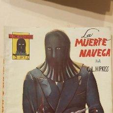 Tebeos: G.L.HIPKISS-LA MUERTE NAVEGA. Lote 186247825