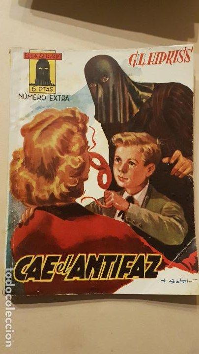 G.L.HIPKISS-CAE EL ANTIFAZ (Tebeos y Comics - Cliper - Otros)